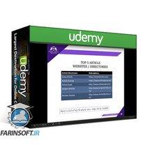 دانلود Udemy [2021] Content Marketing & Strategy 2 Courses in 1  Ver 6.1